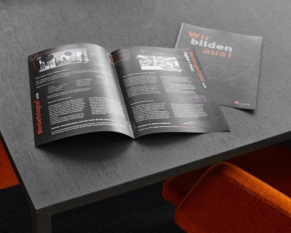 Broschüre 12-Seitig DIN A 4