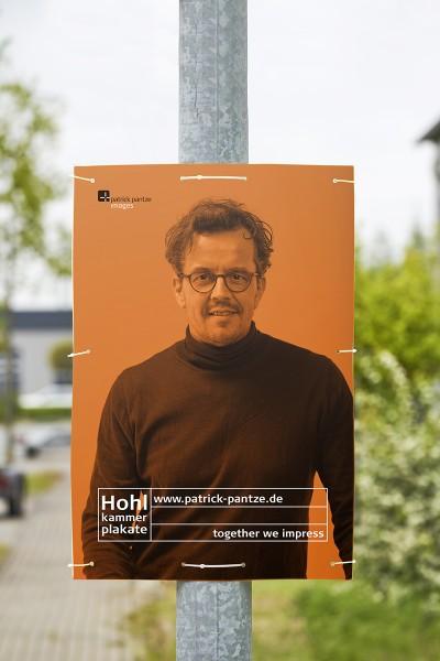 Hohlkammer-Plakat freies Format