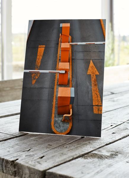 Tischaufsteller Forex DIN A5 mit Rückenstütze