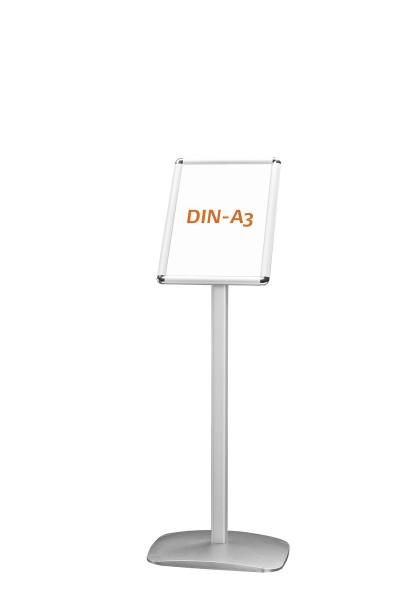 Infoständer DIN A3 (Hoch- und Querformat) inkl. Druck